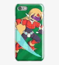 The Red Mega Man iPhone Case/Skin