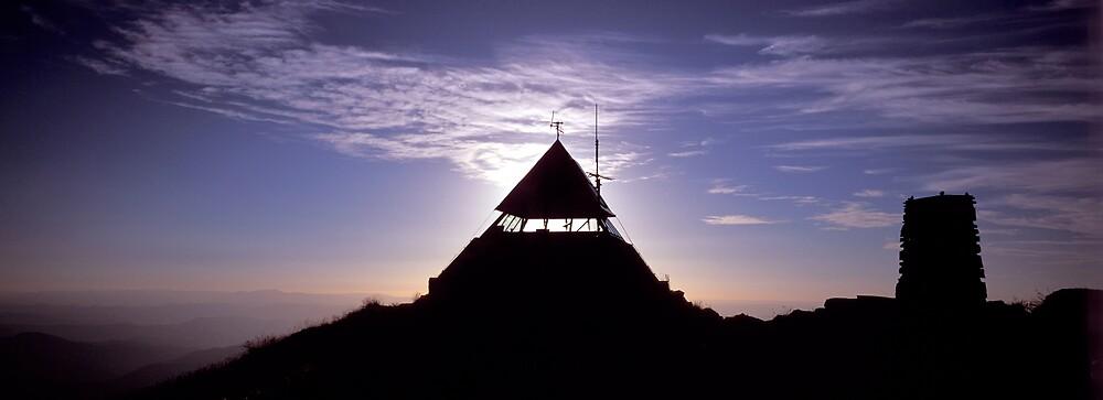 Summit Hut - Mt Buller - Victoria by James Pierce