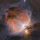 M42 The Orion Nebula by astrochuck