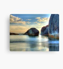Elephant Cove - Williams Bay - Beauty at sunset. Canvas Print