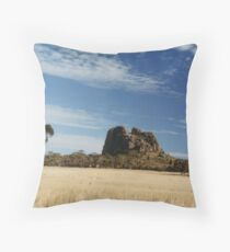 Mitre Rock Throw Pillow