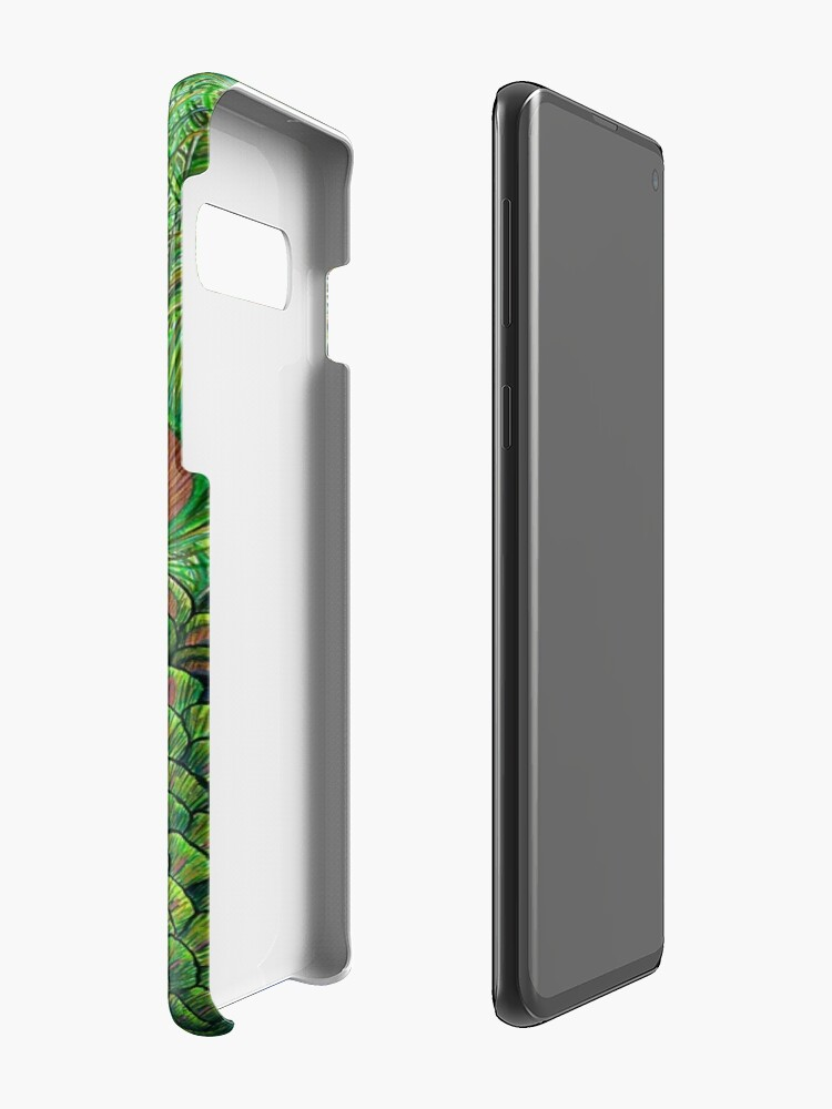 Alternate view of Peacock Case & Skin for Samsung Galaxy