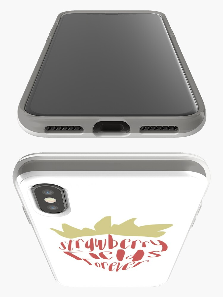 Alternate view of Strawberry Fields Forever iPhone Cases & Covers