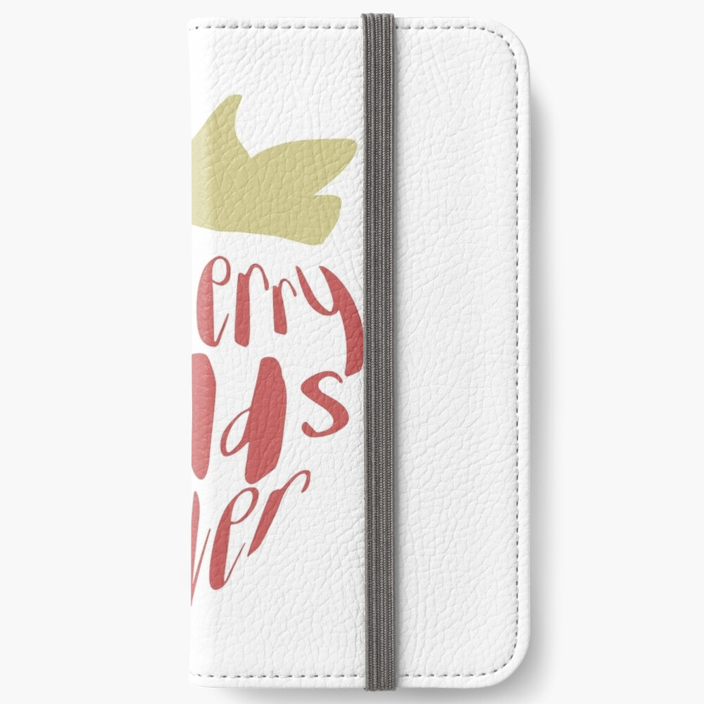 Strawberry Fields Forever iPhone Wallet