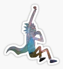 Rick Galaxy - Rick and Morty Sticker