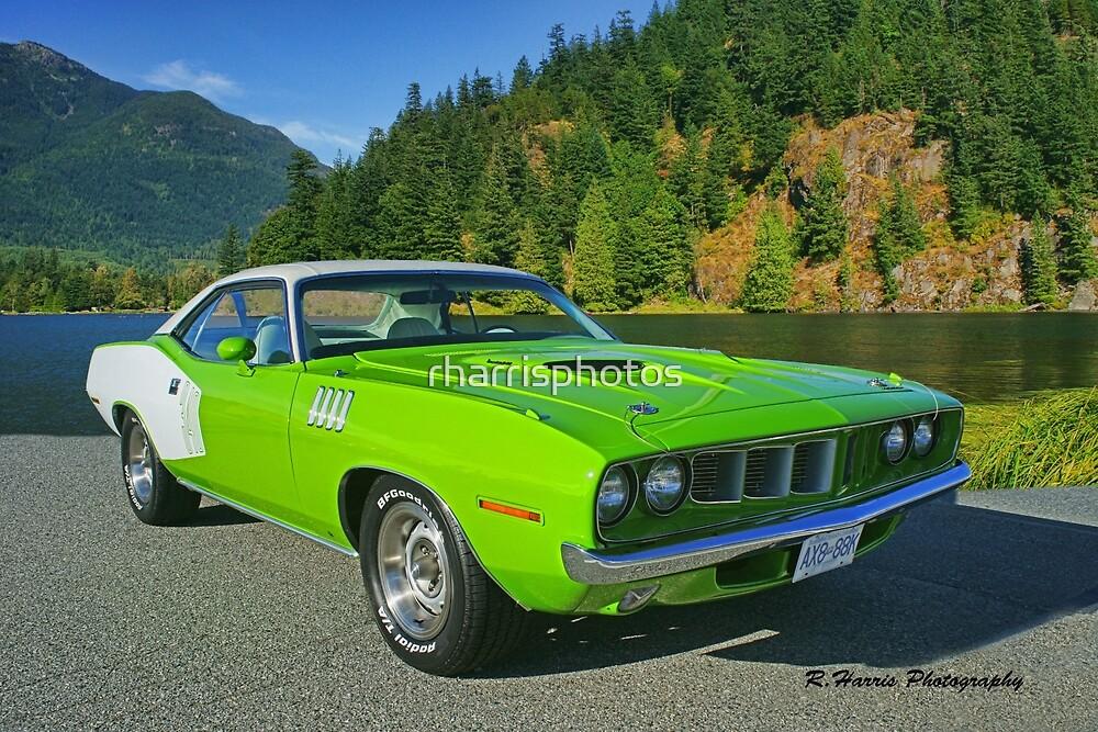 Green 340 Cuda by rharrisphotos