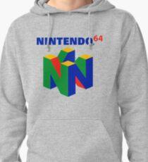 Nintendo 64 logo Pullover Hoodie
