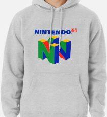 Sudadera con capucha Logotipo de Nintendo 64