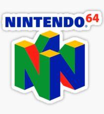 Nintendo 64 logo Sticker