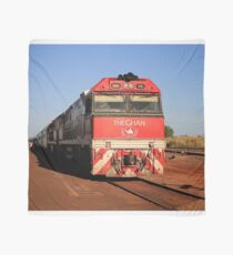 The Ghan train locomotive, Darwin Scarf