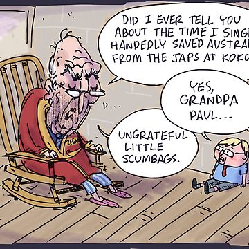 Keating returns! by kudelka