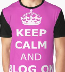 Blog on  Graphic T-Shirt