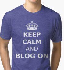 Blog on  Tri-blend T-Shirt
