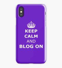 Blog on  iPhone Case/Skin
