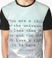 Child of the Universe Graphic T-Shirt