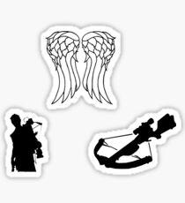 Pegatina Juego de pegatinas Daryl - The Walking Dead