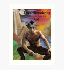 DeCONpression 12 Welcomes Pan Art Print