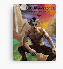 DeCONpression 12 Welcomes Pan Canvas Print