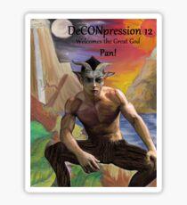 DeCONpression 12 Welcomes Pan Sticker