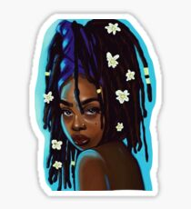 Tropical Goddess Sticker