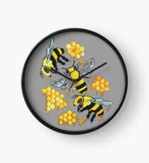 Born to Bee Wild Clock