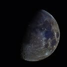 9/3/14 Waxing Gibbous by Chuck Manges