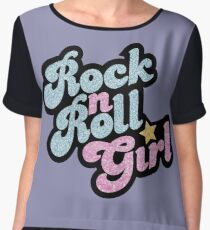 Rock n' Roll Girl Chiffon Top