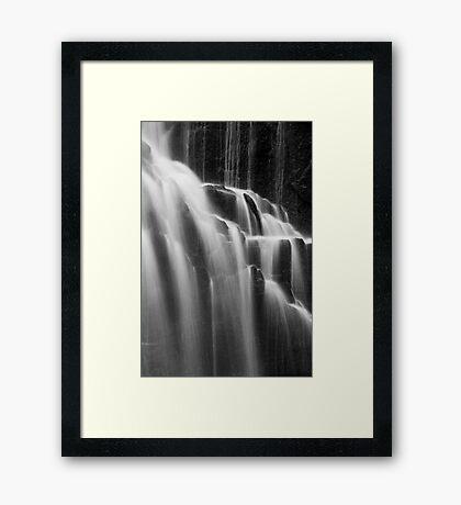 McKensie Falls 1 Framed Print