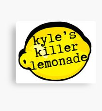 Superbad - Kyle's Killer Lemonade Canvas Print