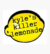 Superbad - Kyle's Killer Lemonade Photographic Print