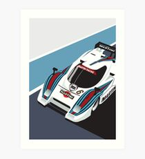 Lancia LC2 Martini Racing Team Art Print