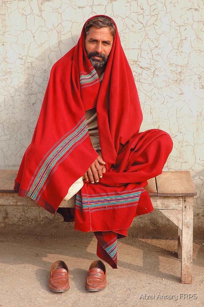 Red Blanket by Afzal Ansary FRPS