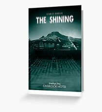 The Shining / Movie Poster Greeting Card