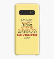 Funda/vinilo para Samsung Galaxy Ella Persistió