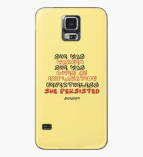 She Persisted Case/Skin for Samsung Galaxy