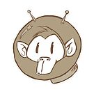 ATOMIC MONKEY STOOPID FACE by willeyworks