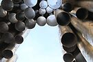 The Sibelius Monument, Helsinki, Finland by Carole-Anne