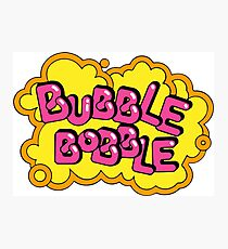 Bobble Bobble mayhem! Photographic Print