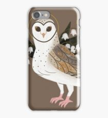 Familiar - Barn Owl iPhone Case/Skin