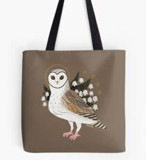 Familiar - Barn Owl Tote Bag