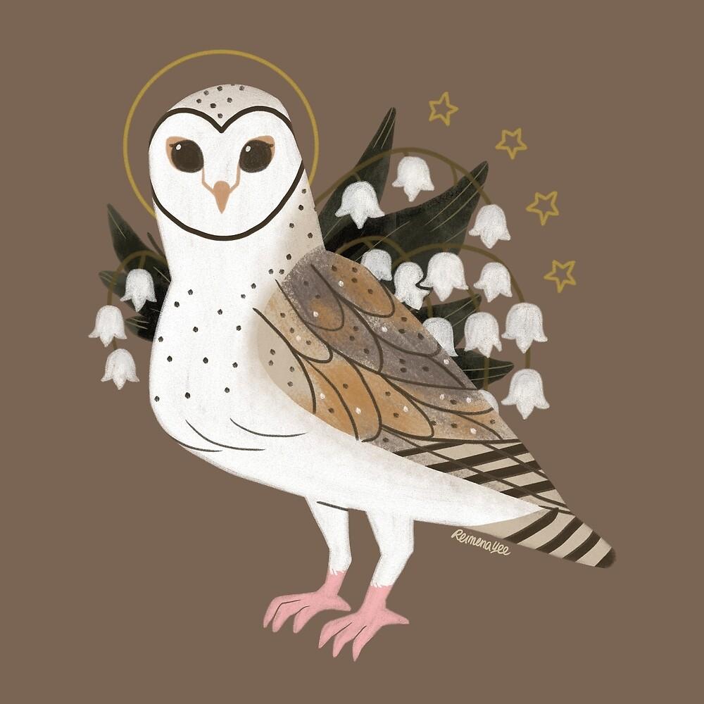 Familiar - Barn Owl by straungewunder