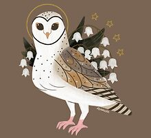 Familiar - Barn Owl by straungewunder