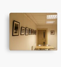 My First Exhibition Canvas Print