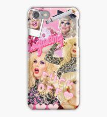 Trixya (Trixie Mattel and Katya Zamo) Collage iPhone Case/Skin