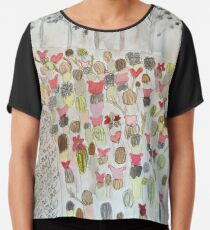 Women's March Together in Love Chiffon Top