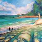 Kailua Shadows by Angela Treat Lyon