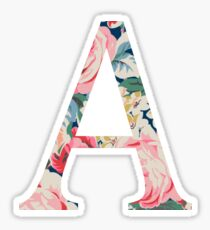 A/Alpha Sticker