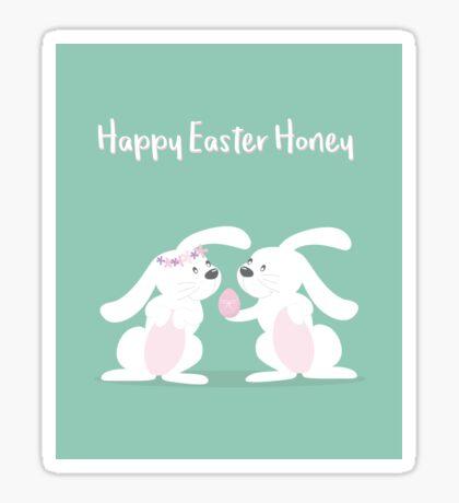 Happy Easter Honey Sticker