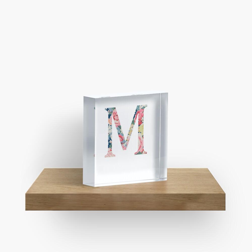 M/Mu Acrylblock