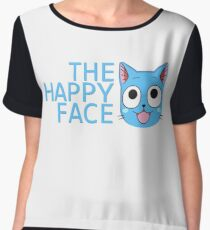 The Happy Face Chiffon Top